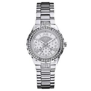 Women s Silver Guess Watch b37a41613209