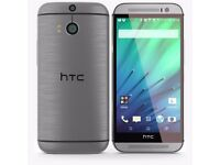 NEW HTC ONE (M7) 16GB Quad-Core 4.7 Inches Android Smart Phone Gray Unlocked Android