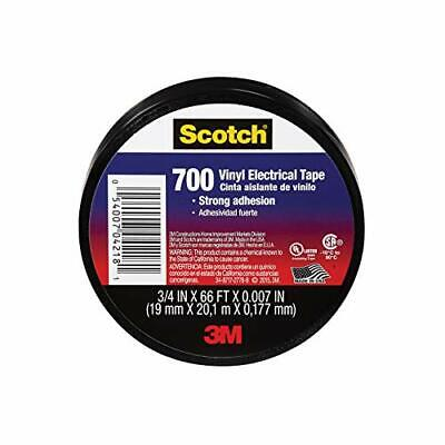 3m Scotch Vinyl Heat-resistant Ul Listed Cm Certified Electrical Tape .75 X .00