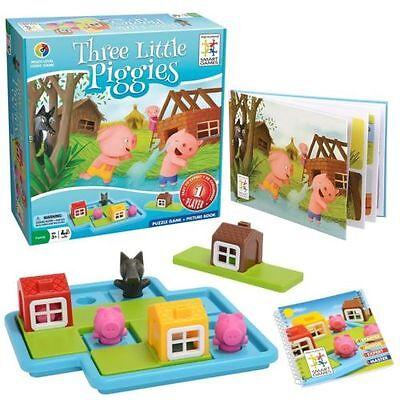 Three Little Piggies Game - Brain Teaser by Smart Games (SG019) NEW - Smart Brain Games