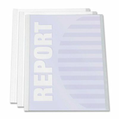 "C-line Report Cover With Binding Bars - Letter - 8.50"" X 11"""