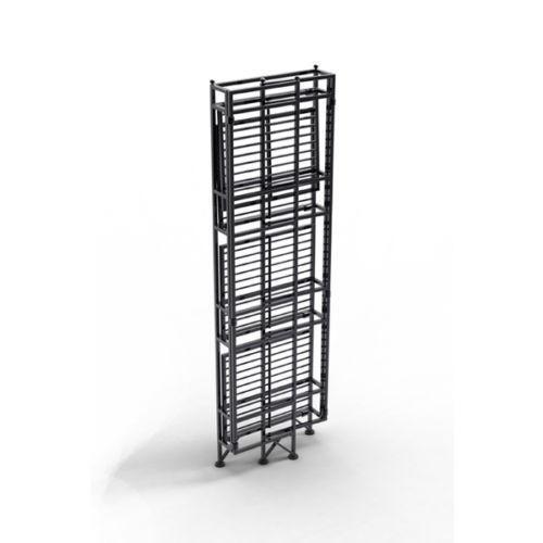 Folding Metal Shelves Ebay