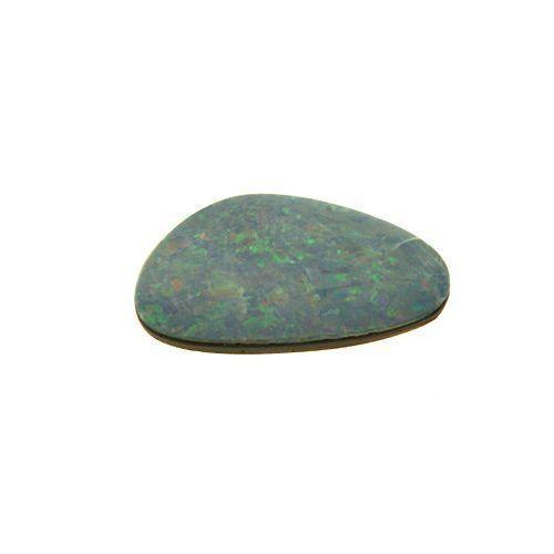 Australian Opal Doublet 15.5x9.1mm Freeform 2.79ct (One of a Kind Stone)