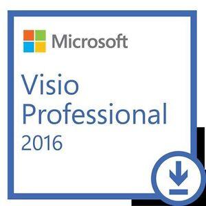 Microsoft Visio Professional 2016 Full 1 User - Refund Guarantee