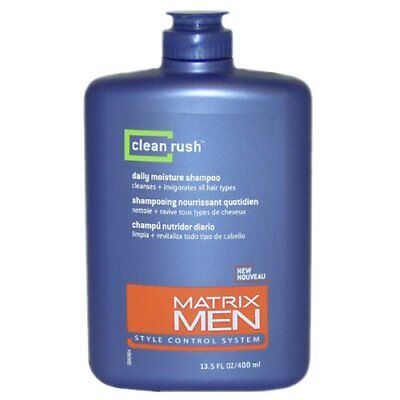Matrix Men Clean Rush Daily Moisture Shampoo, 13.5 Ounce