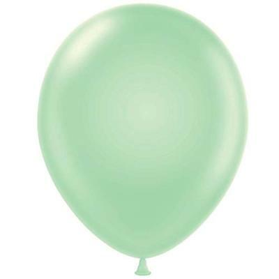 Tuf-tex Mint Green 11 inch Helium Quality Latex Balloons - 12 pack](Green Helium Balloons)