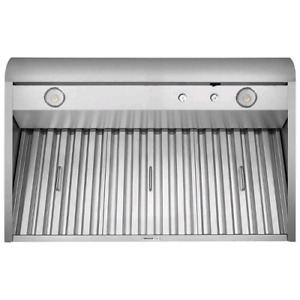 "Broan 42"" stainless steel hood fan"