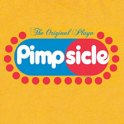 PIMPsicle pimp playa retro porn star funny offensive ymcmb hustler T SHIRT  - Funny Pimp