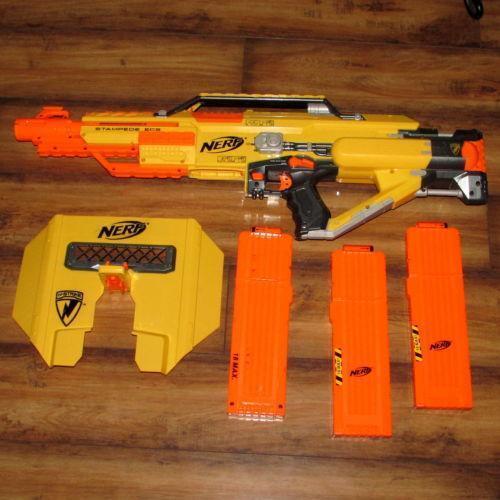 Nerf Stampede Ecs Dart Guns Amp Soft Darts Ebay