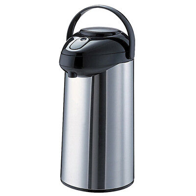 Glass Lined Airpot - 3 Liter Capacity Pump Lid