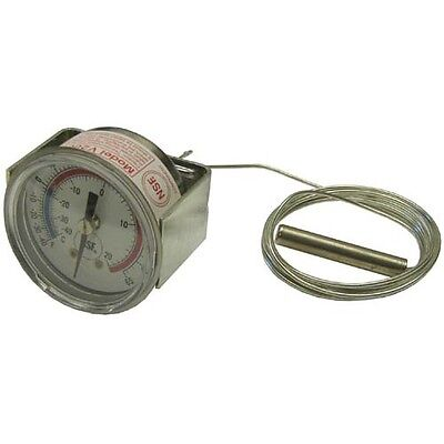 Thermometer W2 Dial Temp -40 To 65 F Rear U-clamp For Victory 50683201 621042