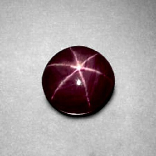 6.31cts Sharp Line Natural Unheat Untreat 6 Rays Star Ruby Loose Gemstone