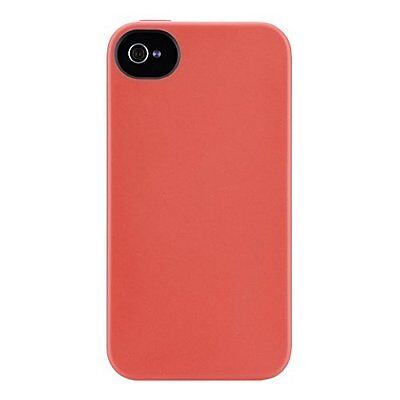 Belkin F8W084EBC02 Essential Case For iPhone 4 / 4S Pink Cover Orange Fitted 3Y (Iphone 4 Belkin Essential)