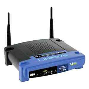 Linksys WRT54G WiFi router