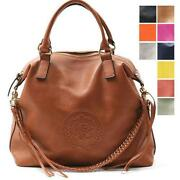 Genuine Leather Bag Purse Handbag Satchel Tote