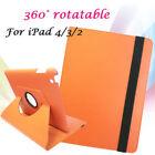Orange Leather Tablet & eReader Cases, Covers & Keyboard Folios for iPad 2