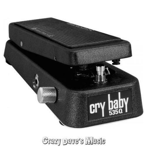 dunlop crybaby 535q multi wah pedal ebay. Black Bedroom Furniture Sets. Home Design Ideas