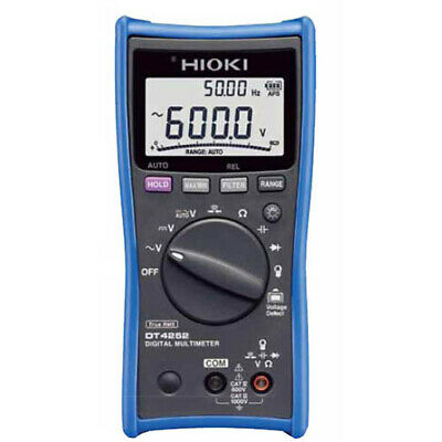 Hioki Dt4252 Trms Dmm 1000v 10a Direct Input With Cap Freq