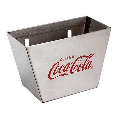 TableCraft Coca-Cola / Coke Wall Mount Bottle Opener & Cap Catcher