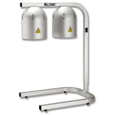 Adjustable Heat Lamp - Two Bulb 500 Watts