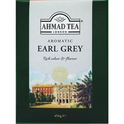(Ahmad Tea London Aromatic Earl Grey Tea loose - 1lb/16oz -Classic best-new stok)