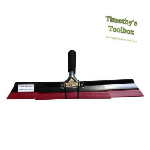 "TexMaster Magic Trowel Texture Knife Drywall Knockdown Set- 22"" & 12"" Blades"