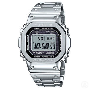 CASIO G-SHOCK ALL-METAL DW5000 CONNECTED WATCH GMWB5000D-1