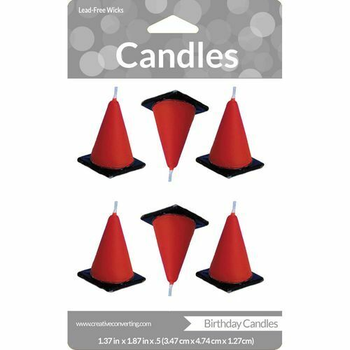 Under Construction Candle (6