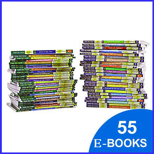 Magic Tree House Set 55 Books Collection By Mary Pope Osborne 🔥(P-D-F )🔥