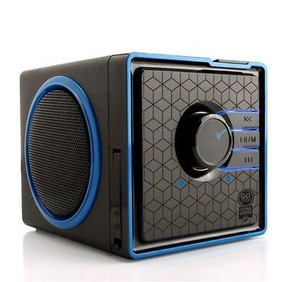 GOgroove SonaVERSE BX Portable Stereo Speaker System w / Rechargeable Battery