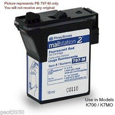 - 2 ea Pitney Bowes 797-M 797-Q 797-0 Compatible Cartridge K700 / K7MO MailStation