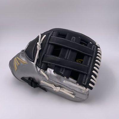 Easton El Jefe Metallic Series-Black/Metallic Silver-13″ Slowpitch Glove RHT