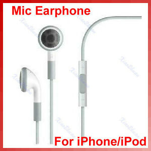 IN-EAR 3.5MM ADJUSTABLE VOLUME EARBUD HEADPHONE 4 MP3 IPOD IPAD