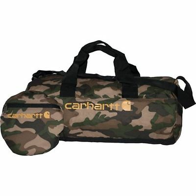 "BRAND NEW! Packable Carry On Luggage CARHARTT19"" CAMO Duffle Bag Camouflage"