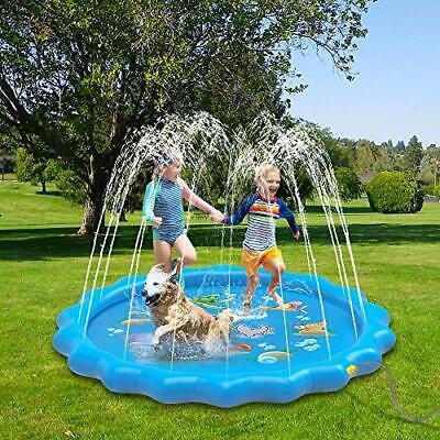 Salpicaduras Piscina Con Agua Aspersor Para Niños y Bebes Juego De Agua Al Aire