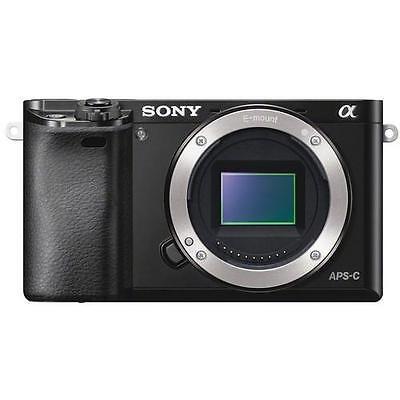 Sony Alpha a6000 Mirrorless Digital Camera Body (Black)