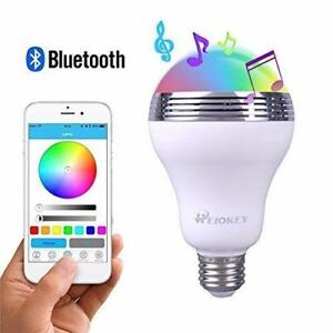 NEW RGB COLOR CHANGING SPEAKER LIGHT BULB BULSP