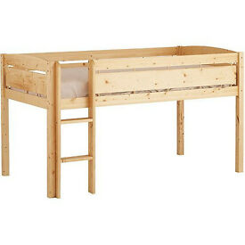 Junior Loft Bed (Canwood Whistler), Natural