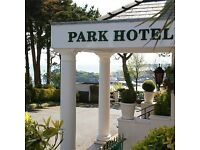 Sous / Commis Chef required at Park Hotel, Tenby, Pembrokeshire.