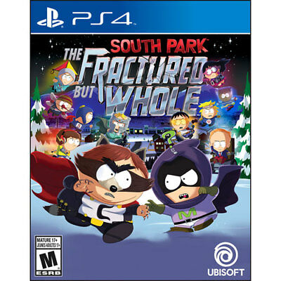 South Park  The Fractured But Whole  Sony Playstation 4  2016   New Sealed