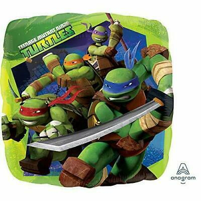 Teenage Mutant Ninja Turtle Birthday Party Decorations Mylar Foil Balloon 18