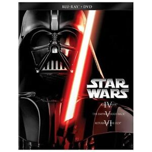 NEW Star Wars Trilogy-Episodes IV-VI  (Blu-ray)