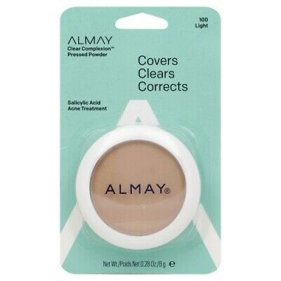 Almay Clear Complexion Pressed Powder CHOOSE YOUR SHADE 100 200 300 Almay Clear Complexion Powder