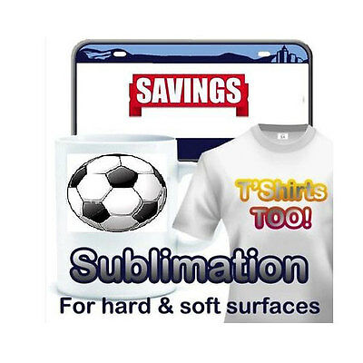 Dye Sublimation Ink Heat Transfer Paper Pk 100 Sheets. 8.5x14 Heat Press Machine