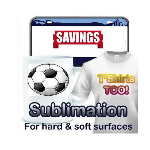 Dye Sublimation ink heat Transfer Paper 100 Sheets. 8.5x14 heat press machine