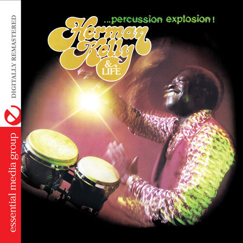 Herman Kelly & Life - Percussion Explosion [New CD] Manufactured On Demand, Rmst