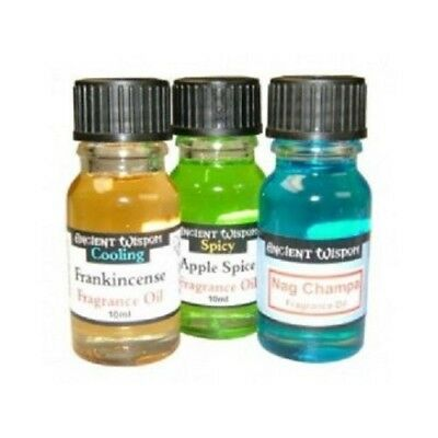10 Bottles of 10ml Fragrance Oils - Stock Clearance (10 Different Scents)