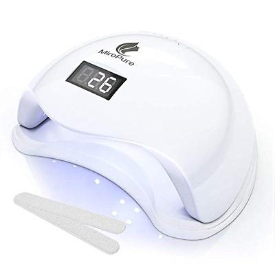 MiroPure 36W UV LED Nail Lamp with 4 Timer Setting and 2 Nai