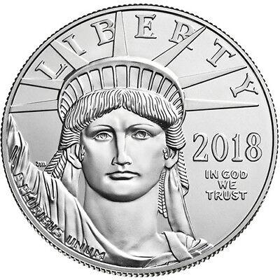 2018 1 oz American Platinum Eagle Coin (BU)