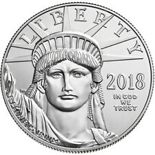 ON SALE! 2018 1 oz American Platinum Eagle Coin (BU)